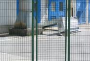 Enokrilna mrežna vrata osebni prehod