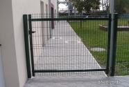 Enokrilna panelna vrata za vrtce in šole