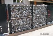 Kamnita panelna ograja