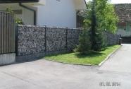 Kamnite ograje iz panelov