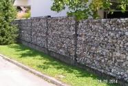 Vrtne ozke kamnite ograje
