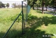 Pletena mrežana ograja