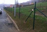Varjene kvadratne mreže ograj