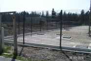 Panelna ograja dvorišča