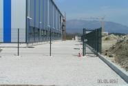 Panelna mreža za ograjo
