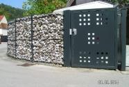 Enokrilna perforirana vrata