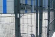 Enokrilna panelna vrata industrijskih objektov