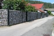 Kamnita panelna ozka ograja