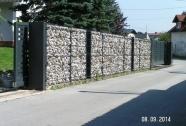 Kamnite ograje panelne