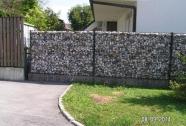 Vrtne kamnite ograje panelne
