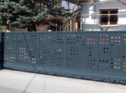 ograje iz perforirane pločevine