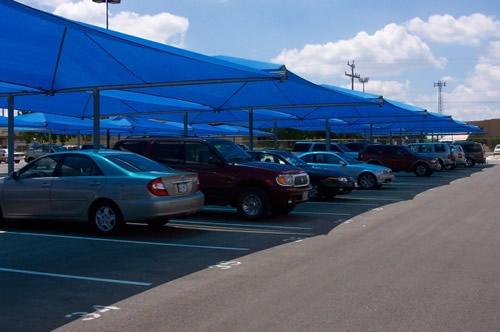 Protitočna zaščita parkirišča